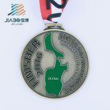 昇進のカスタム金属のマップの記念品メダル