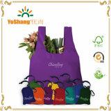 Bolso de nylon plegable reutilizable promocional del bolso de compras
