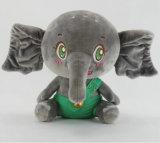 도매를 위한 박제 동물 견면 벨벳 장난감 코끼리 연약한 장난감