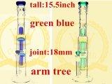アーム木のGurdの送話口のタバコの再資源業者の煙るガラス配水管