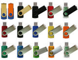 BSCI Verified Factory Wholesale Cheap Swivel USB Flash Drive for Promotional Gift