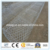 중국 최신 담궈진 직류 전기를 통한 6각형 철망사 Gabion 상자