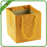 Bolsas de papel grandes recicladas de Brown
