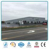 Casa prefabricada para el taller del almacén del hierro de la estructura de acero del metal