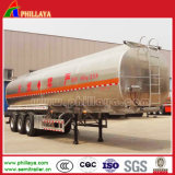 ステンレス製のSteelかCarbon Steel/Alloy Alumimun Optional 3 Axles Tanker Container Oil Water Fuel Carrier Tanker Semi Trailer Truck