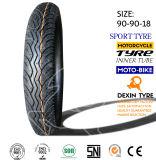 Dientes del deporte del neumático del neumático de la motocicleta de Suramérica 90/90-18 Tt Tl