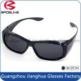 Gafas de sol protectoras ULTRAVIOLETA de China de la insignia de las gafas de sol de la cortina al aire libre de encargo al por mayor de Sun