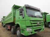 8x4 de Vrachtwagen van de Kipper SINOTRUK HOWO/de Vrachtwagen van de Stortplaats
