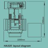 Molibdeno servo EDM (HA320) del CNC del alambre de la alta precisión