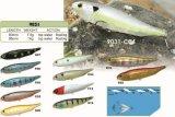 L'eau Popper de dessus de qualité de pente de D.C.A. attrait de flottement de pêche de 80mm et de 95mm
