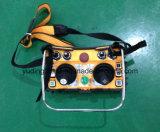 Guindaste industrial de controle remoto, de controle remoto sem fio do telecomando duplo resistente do manche F24-60