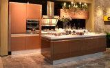 2017 gabinetes de cozinha personalizados Rta modernos da laca (zz-057)