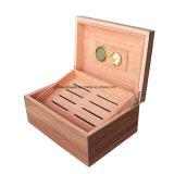 Коробка Humidor сигары деревянного цвета Brown лоснистая деревянная