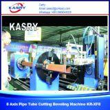 Резец пробки CNC Plamsa машины вырезывания пробки трубы и квадрата нержавеющей стали скашивая используемый для стального строительного проекта Kr-Xf8