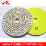 Wet Dry Polishing Concrete Floor를 위한 수지 Bond Diamond Rigid Polishing Pads
