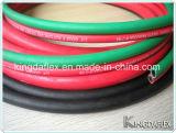 Ligne colorée boyau de l'oxygène/Acetylene/LPG/Twin de soudure