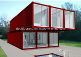一時寮およびオフィス(DG4-036)のためのモジュラー容器の家のプレハブの家