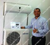Climatiseur solaire hybride de Solaire-Forces