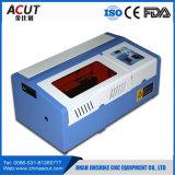 최신 판매 이산화탄소 40W 소형 고무 도장 Laser 조각 기계