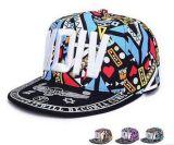 각종 크기 주문 로고 다채로운 인쇄된 Snapback, 스포츠 모자, 힙합 모자, 물자 및 디자인
