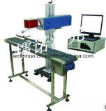 машина маркировки лазера стекловолокна 50W для стали углерода (режим мухы)
