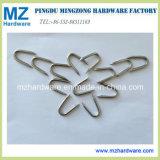 La rete fissa luminosa galvanizzata del punto U del taglio del diamante del ferro cuce con punti metallici il chiodo