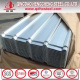 JIS G3322のGalvalumeによって塗られる波形を付けられた鋼鉄屋根ふきシートを着色しなさい