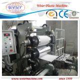 Borda de borda do PVC que faz a máquina com carimbo quente em linha