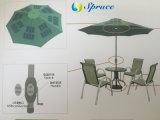 caricatore solare 25W per l'ombrello esterno