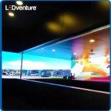 Tela interna do vídeo do diodo emissor de luz do quarto de reunião da cor cheia