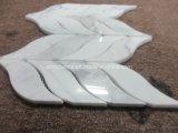 Azulejo de suelo de mármol blanco de Calacatta
