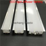 중단된 알루미늄 LED 단면도를 위한 폴리탄산염 유포자