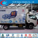 Heißester Verkauf! ! ! Dongfeng 4X2 Kühlraum-LKW