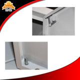Kabinet het Met vier deuren van de Kleren van het Staal van het metaal