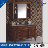 Festes Holz-Antike-Fantasie-Fußboden-stehende Badezimmer-Möbel