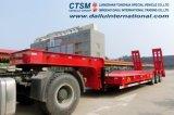 3 assi 50 tonnellate di Lowbed Lowboy di rimorchio resistente del camion da vendere