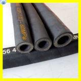 Boyau hydraulique à haute pression 4sh de boyau en caoutchouc industriel 1 pouce