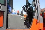 China hizo cargador Telehandler del auge del alcance de los 4.2m el cargador telescópico de la rueda