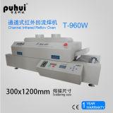 Forno do Reflow de SMT, Reflow Solering do diodo emissor de luz, forno do Reflow de BGA, máquina de solda Puhui T960e da onda