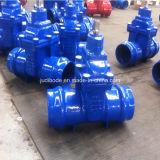 Válvulas de portão de extremidade de soquete resilientes para tubo de PVC / PE