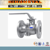 ANSI B16.34 Flanged Ball Valve com ISO5211 Direct Mounting Pad