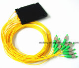 1X4 Sc APC ABS Box Optical Fiber Splitter
