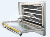 Heo-6D-B elektrischer Backofen mit 4 Tellersegmenten und Digital-Konvektion-Ofen