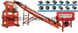 일렬로 세운 기계를 구체적인 벽돌 (JXQA-35)