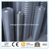 Treillis métallique galvanisé de fer/treillis métallique soudé
