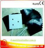 550*550*1.5mm 220V 1000W 3m Tape Black Silicone Printer Heater