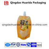 Zak van het Spuiten van de douane de Vloeibare Standup voor De Verpakkende Zak van het Vruchtesap