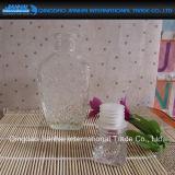 Garrafa de vidro Round Diamond Pattern para vinho