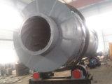 スラグ、砂、中国の工場によるおがくずのための3本のシリンダー回転乾燥器