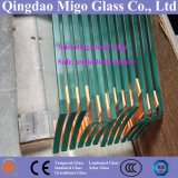 12mm schnitt transparentes freies Floatglas-/Tempered-Glas zurecht